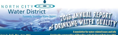 NCWD Annual Water Quality Report - 2013