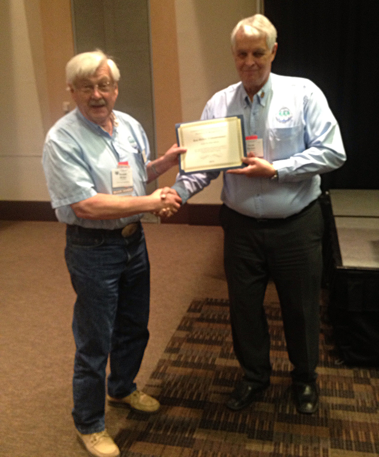 Ron Ricker North City Water District Association Award