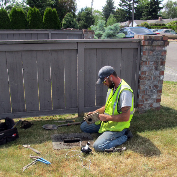 Shoreline Lake Forest Park water meter replacement north city water district