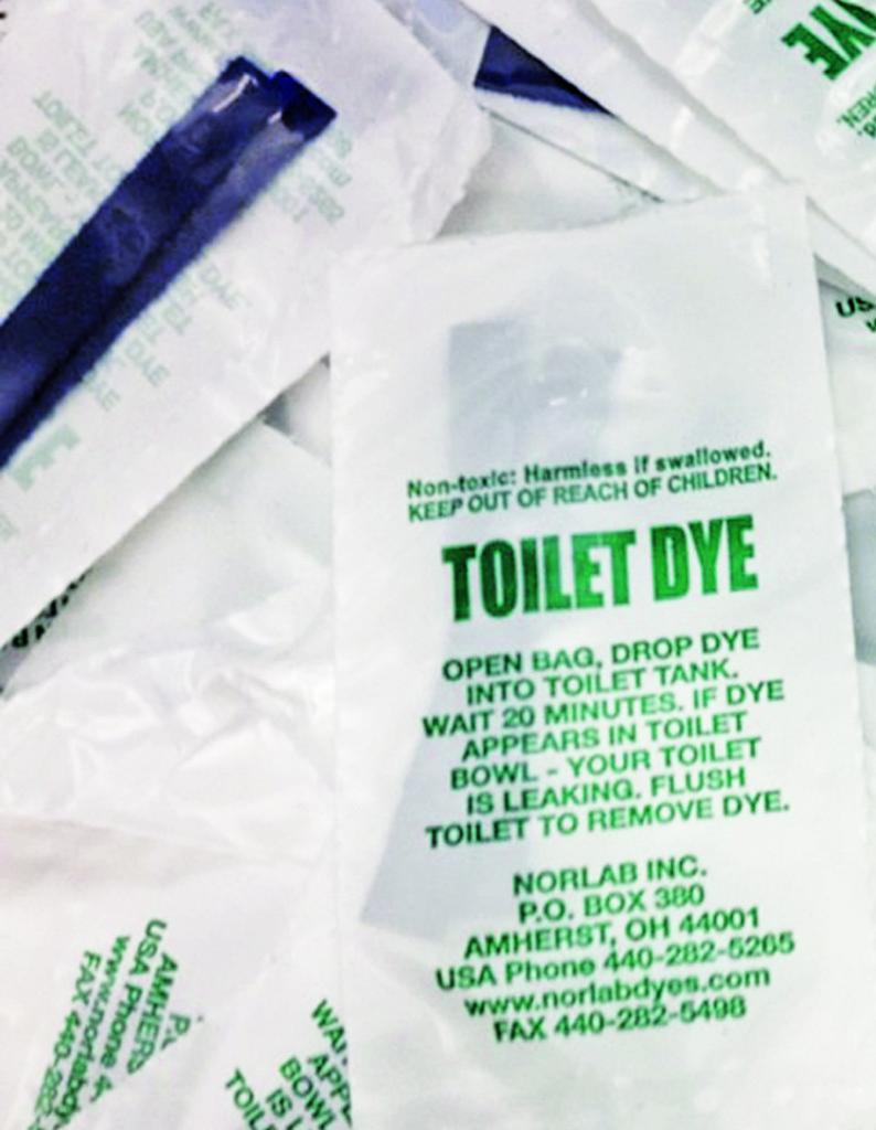 Fix a Leak Toilet Dye vert