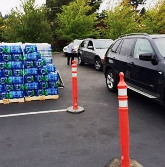 Mercer Island water distribution