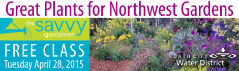 Savvy Gardener Class Featured 4-28-15