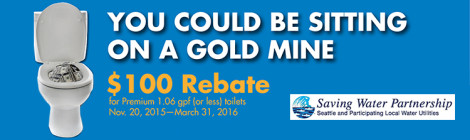 Seattle $100 Toilet Rebate featured
