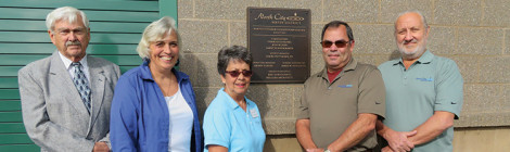 Pump Station Dedication People featured